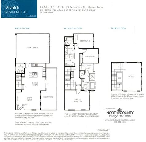 veridian homes floor plans new homes in san diego near del sur new townhomes at