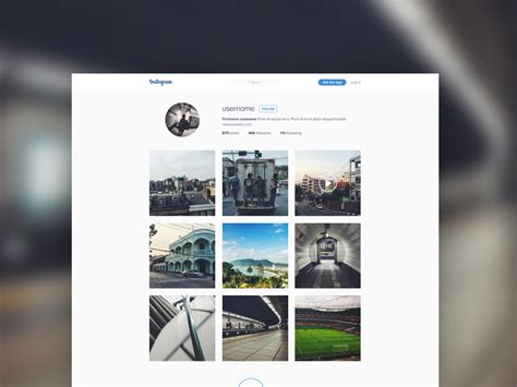 web design instagram instagram template mockup freebie download photoshop
