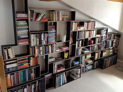 how to build a bookcase accessories elegant wall mounted asymmetrical shelves in
