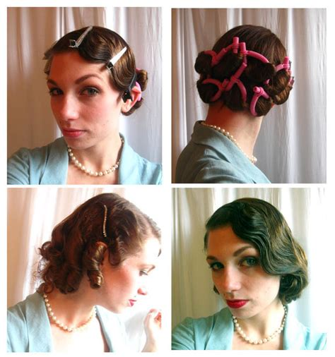 how to do easy 1920s hairstyles for mid hair with fringe 30 diy vintage hairstyle tutorials for short medium long