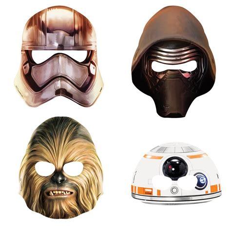 Wars Mask wars paper masks dons hobby shop
