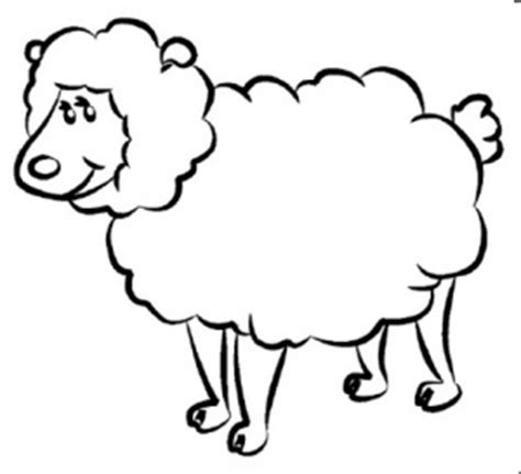 sheep printable pages preschool coloring pages