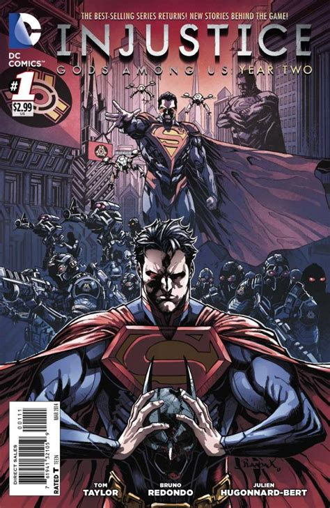 injustice gods among us year four vol 2 dc comics preview injustice gods among us year two