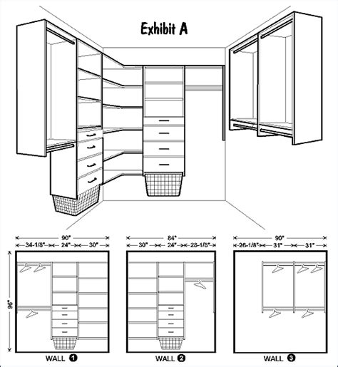 rails layout hierarchy easy track closet organization at fox