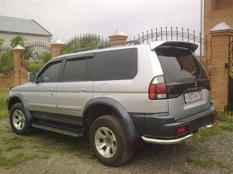 2004 mitsubishi pajero sport pictures information and specs auto database com
