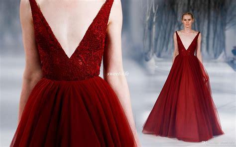 chagne color prom dress burgundy gown prom dresses vintage lace v neck