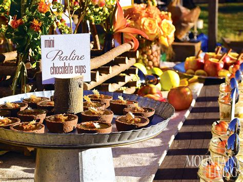 6 inspiring party ideas for fall mountain living
