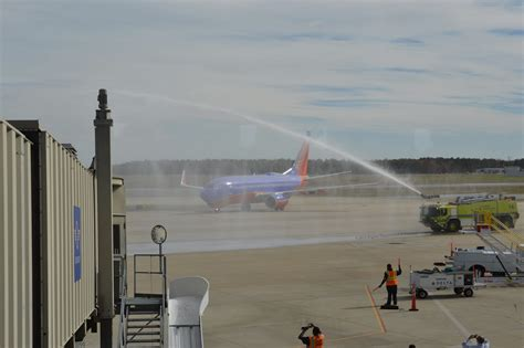virginia aviation news southwest airlines officially landed at richmond international airport ric