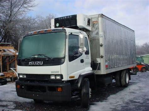 Isuzu Diesel Box Truck Sell Used 1999 Isuzu Ftr Reefer Commercial Box Truck