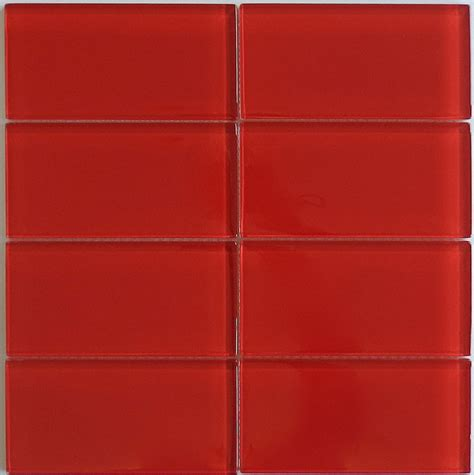 tile pictures classic glass subway tile in cherry modwalls lush 3x6 tile modwalls tile
