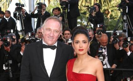 Salma Hayek Is Engaged And Knocked Up by Fran 231 Ois Henri Pinault The Gossip