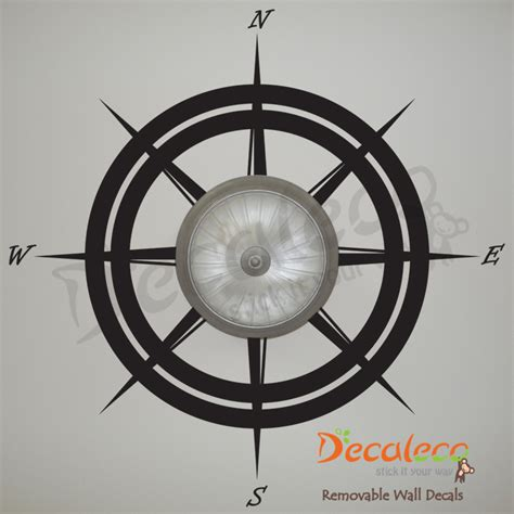 Stickers For Ceiling by Nautical Compass Wall Ceiling Decal