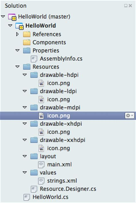 android layout xml structure part 1 android resource basics xamarin