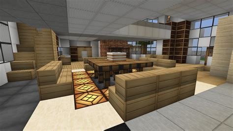 Dining Room Table Minecraft Modern House 1 Minecraft Project