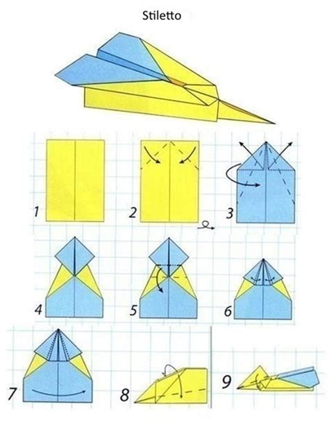 How To Make A Paper Airplane Model - models of paper airplanes selection diy is