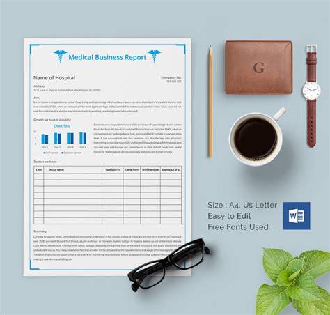 business report template 35 business report template free sle exle