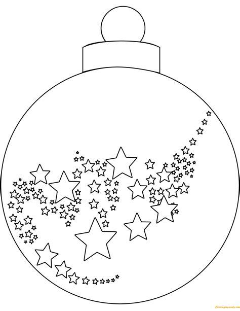 ball ornament coloring page christmas ball ornaments coloring page free coloring
