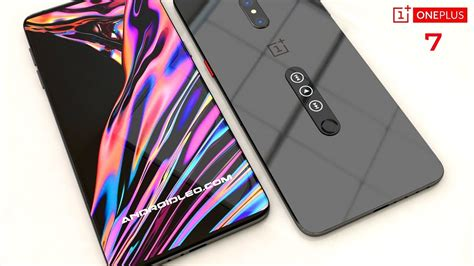 oneplus 7 with dualdisplay and 5g introduction concept