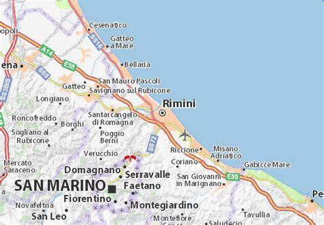 Be Hotel Rimini Italy Europe carte d 233 taill 233 e rimini plan rimini viamichelin