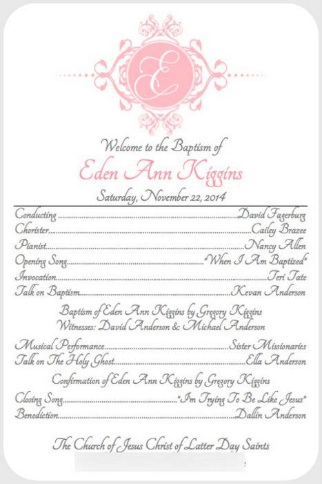 Lds Baptism Card Template by Like And Apple Pie Free Lds Baptism Announcement