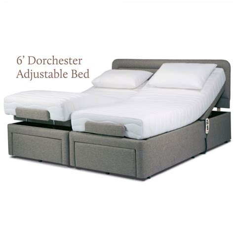 Adjustable King Size Mattress by Sherborne Dorchester King Size Electric Dual Motor