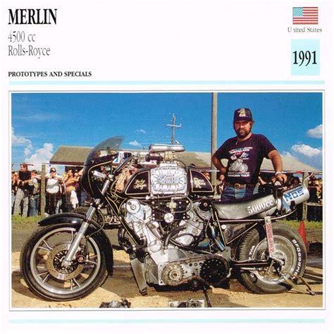 rolls royce motorcycle 1991 merlin 4500 cc rolls royce prototype motorcycle