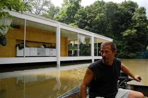 farnsworth house plans plan would lift farnsworth house out of harm s way chicago tribune