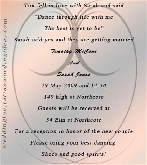 Fairytale Wedding Invitation Wording And Design