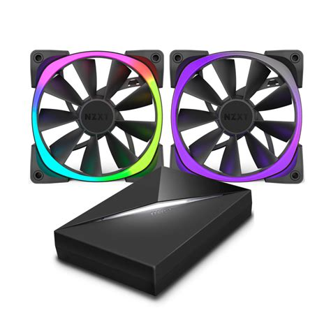 nzxt aer rgb fans nzxt s aer rgb case fans adds colors to your pc s casing