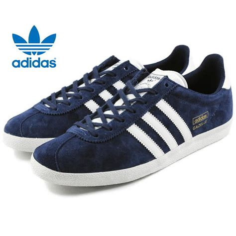 adidas gazelle og 1 mens trainers shoes uk sizes 7 12 blue black navy colors ebay