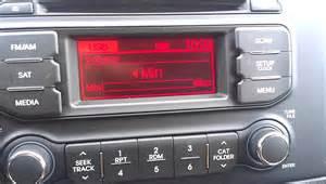 Kia Radio The Stock Stereo Of The New 2013 Kia My Review