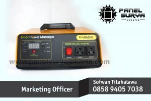 Pompa Air Mini Solar Cell solarland smart power manager
