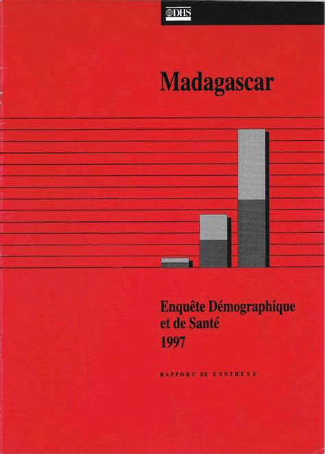 is madagascar a speaking country the dhs program madagascar dhs 1997 summary report