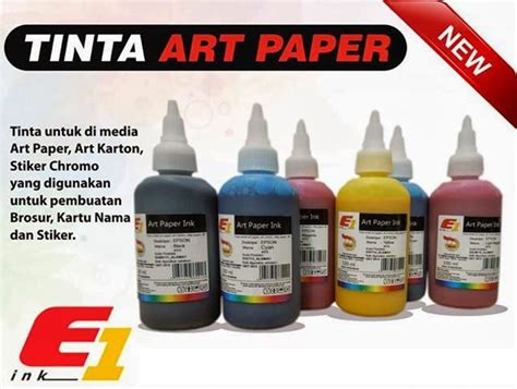 Tinta Epson Verry Ink 1 Liter Asli Korea distributor sparepart printer jual tinta paper f1 ink 100ml