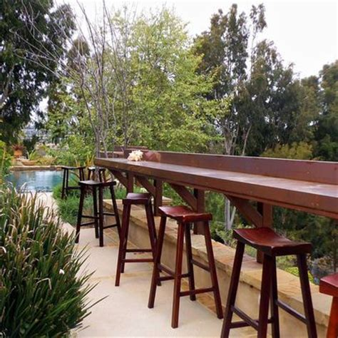 top deck bar bar built into the deck railing deck bar pinterest happenings summer and decks