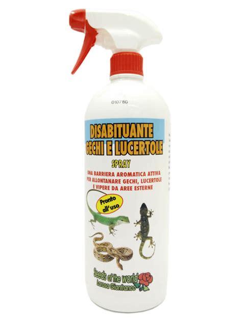 Come Eliminare Gechi E Lucertole by Disabituante Gechi E Lucertole Spray 1 Litro