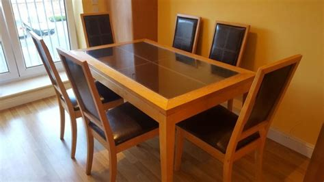 6 seater table and chairs 6 seater dining table chairs for sale in swords dublin