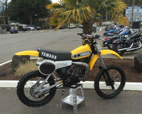 125 motocross bikes for sale 1980 yamaha yz 125 for sale