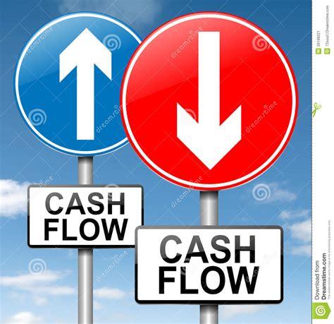 cash flow concept stock illustration image of financial   26199221