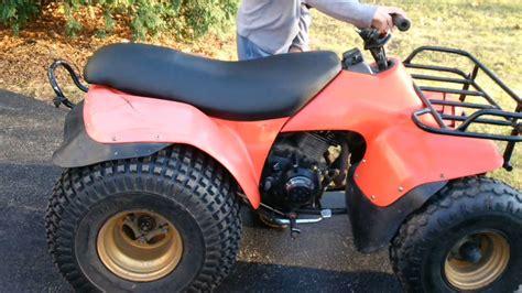 Suzuki Lt125 by 1984 Suzuki Lt125 Atv See It Start