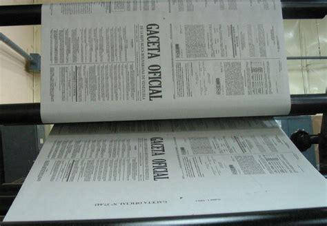 gaceta oficial nro 40846 correspondiente al 11 de oficializan decreto de d 237 as no laborables en la
