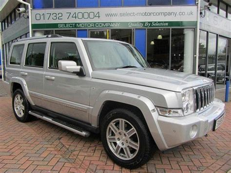 jeep commander silver used silver jeep commander 2009 diesel 3 0 v6 crd overland