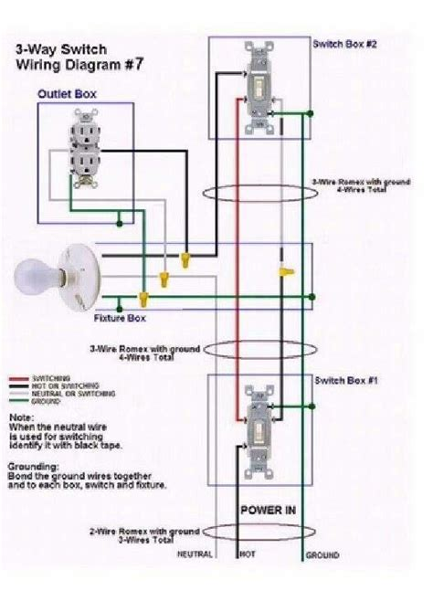 3 Way Switch Wiring Diagram 7 Electrical Services 3