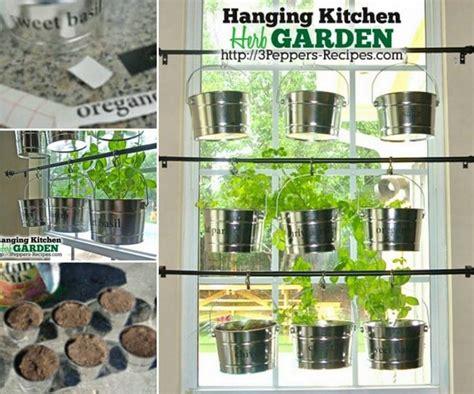 garden in the kitchen wonderful diy hanging herb garden for kitchen