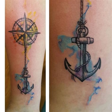 compass tattoo price 34 best anker compass tattoos for women images on
