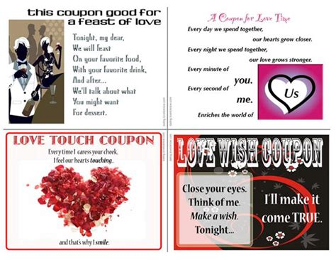 printable intimate love coupons love coupons for valentines day lovetoknow