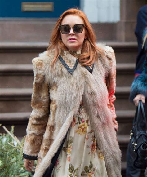 Lindsay Lohan Celebrates Independence by Lindsay Lohan Celebrates Grandmother S 94th Birthday