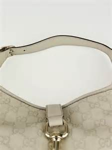 Gucci Large Bouvier Bag by Gucci White Guccissima Leather Jackie O Bouvier Large Hobo