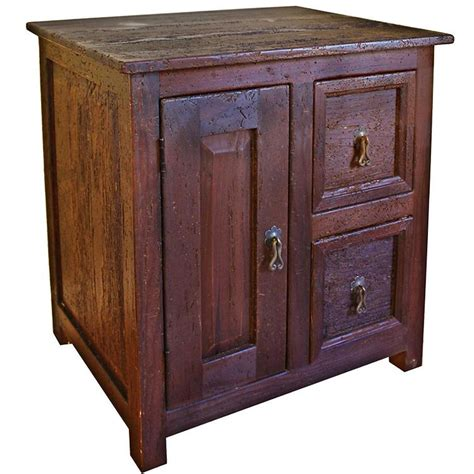 Southwestern Bedroom Furniture Rustic Furniture Southwestern Rustic Durango Nightstand
