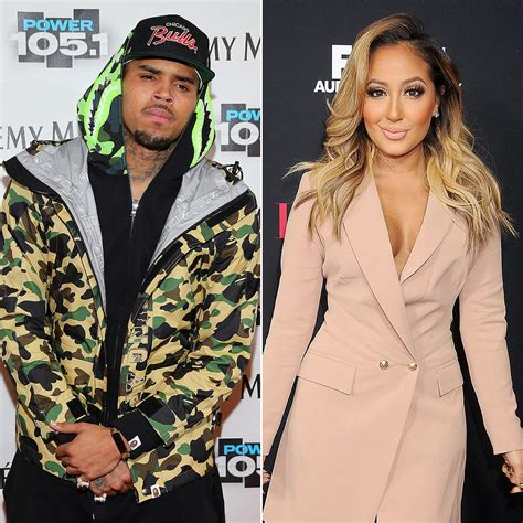 adrienne bailon not happy with chris brown s rant chris brown s feud with adrienne bailon popsugar